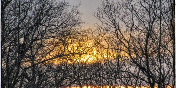 Puesta de sol en Corre Caballos, Pisueña