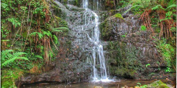 Canal de Leroba, Cabuérniga. La cascada más bonita de Cantabria.
